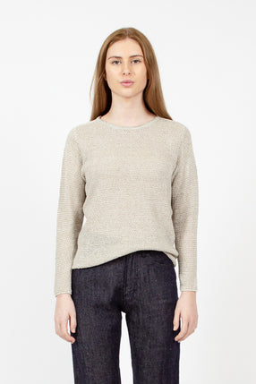 Flax Knit Sweater
