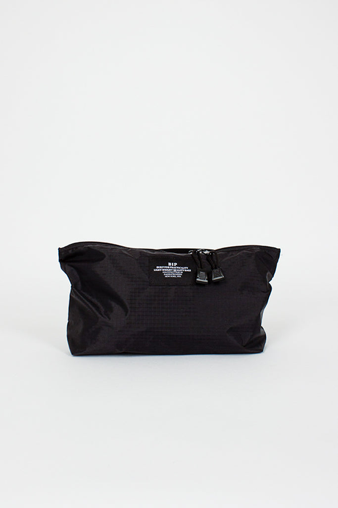 B.I.P. Ripstop Crossbody Black Bag