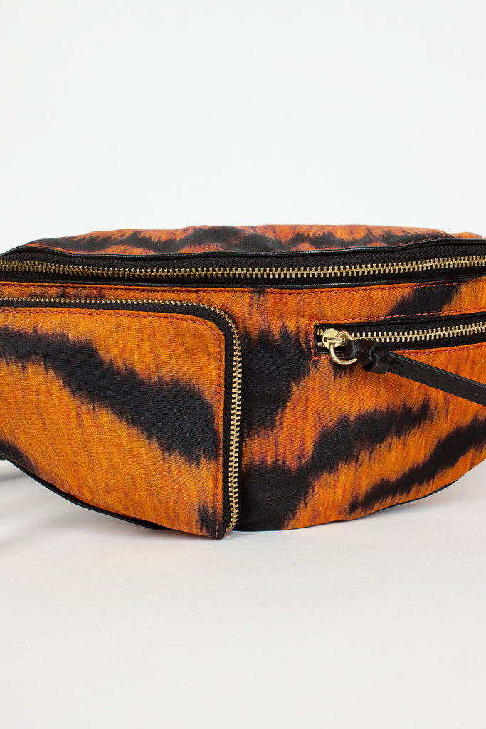Tiger Crossbody Nylon Bag