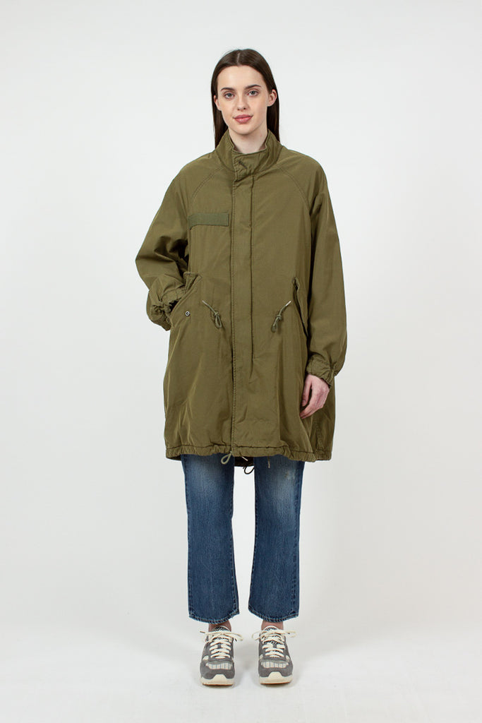 Six-Five Fishtail Olive Parka