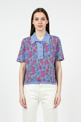 Gordon Floral Polo