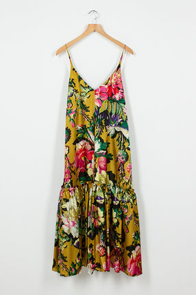 Diba Yellow Floral Dress