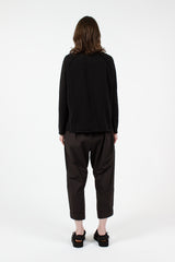 U2348 Braghe Black Trousers