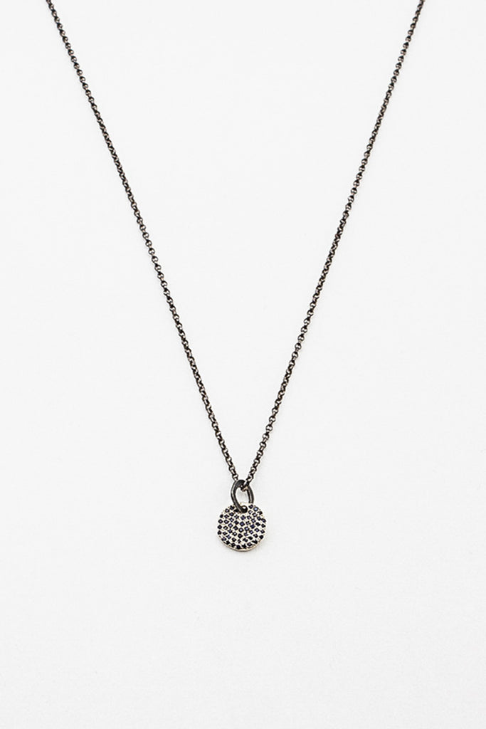 Jupiter Black Diamond Necklace