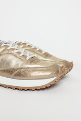 Gold Tempo Low Sneaker