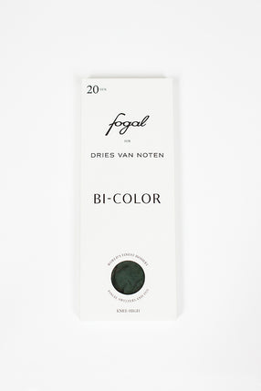 Fogal X Dries Van Noten Knee High Socks Bottle/Black