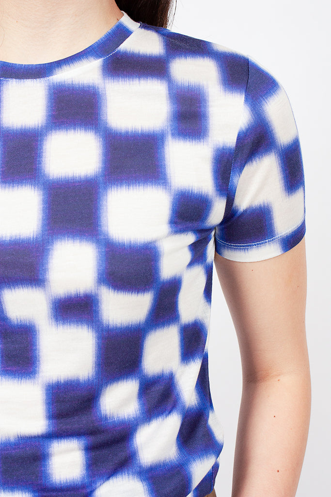 Square Patterned T-Shirt