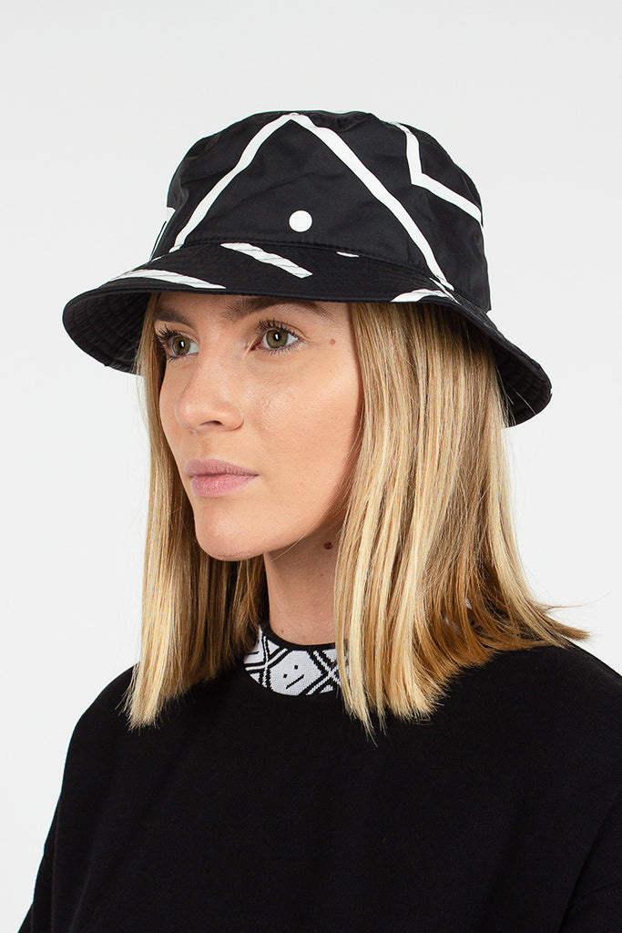 Face Print Bucket Hat
