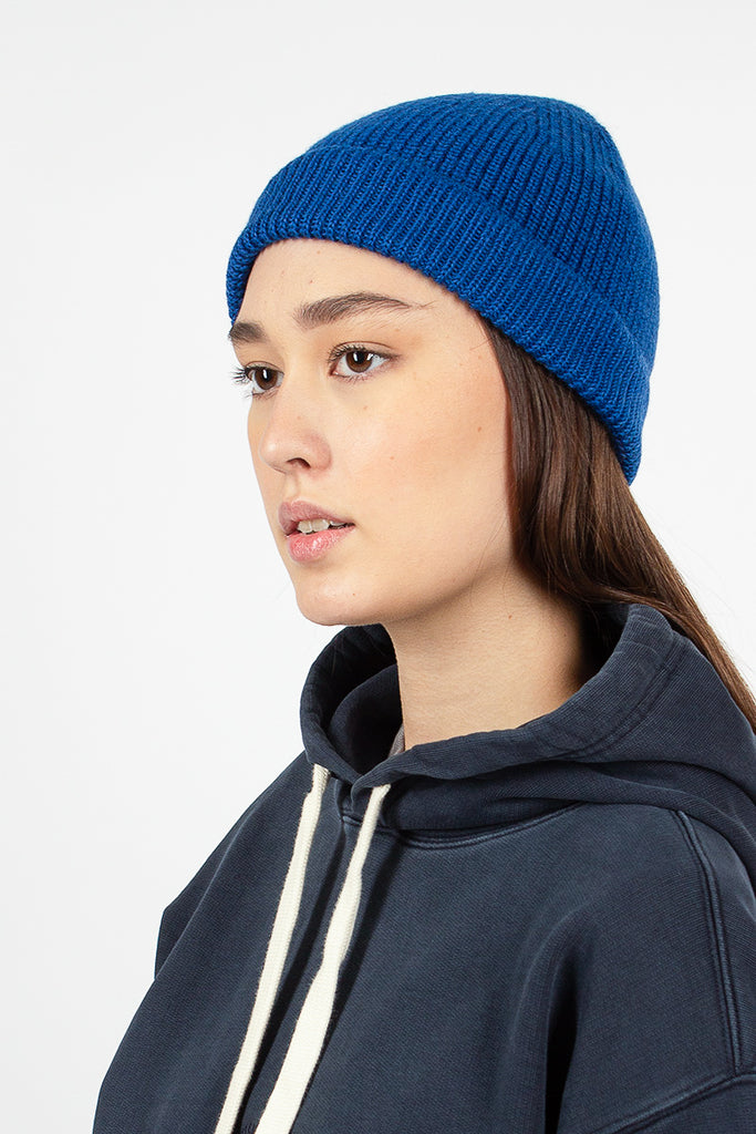 Solid Beanie Bright Blue