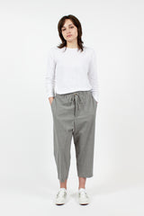 Mini Check Baggy Pant