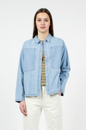 Miller Indigo Bleach Shirt