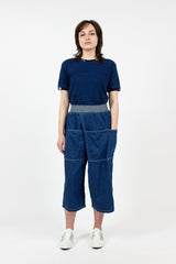 Wide Pocket Trousers
