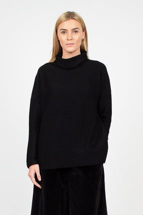 Turtleneck Black Jumper
