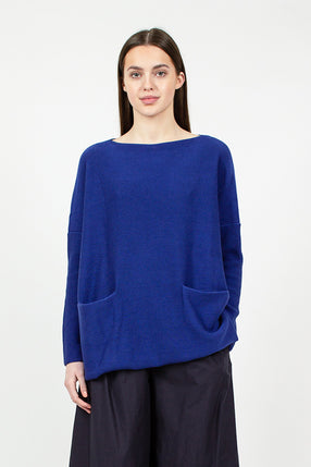 Royal Blue Pocket Jumper