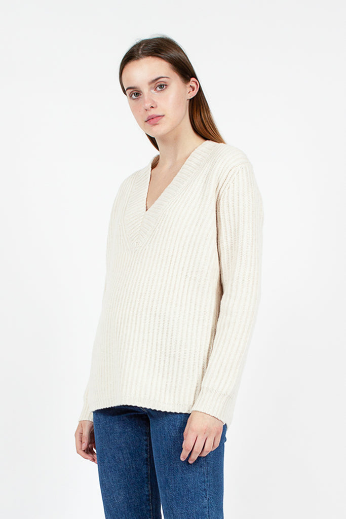 Keborah Off White Jumper