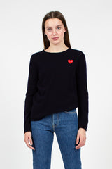 PLAY Navy Heart Jumper