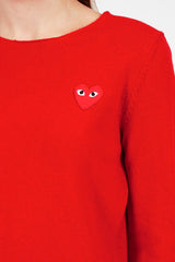 PLAY Red Heart Jumper