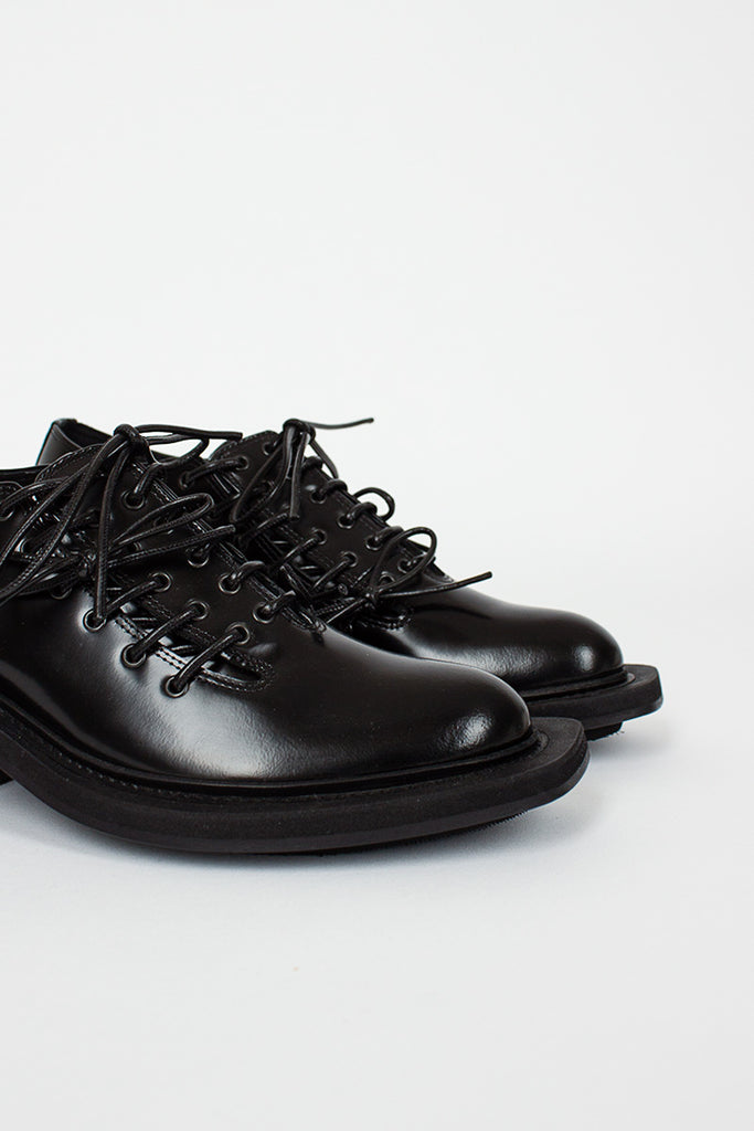 Black Box Leather Derby