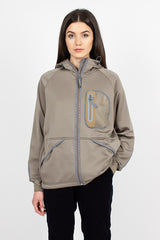 Polartec Light Fleece Hoodie Beige