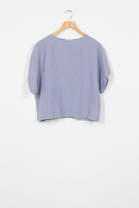 BX20 Lavender Short Sleeve Box Top