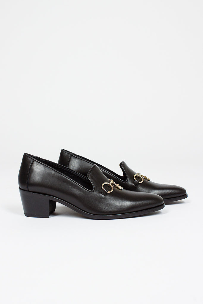 Opera Bit Vamp Leather Loafer