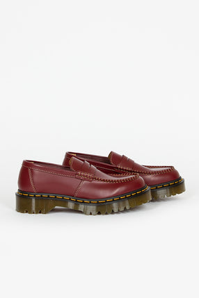 Dr Martens X CDG 1461 Penton Bex Loafer Cherry Red