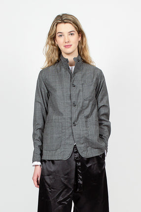 Loiter Tropical Wool Glen Plaid Jacket
