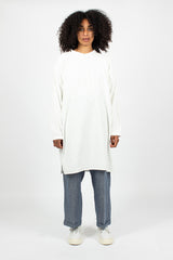 Long Shirt Dress White
