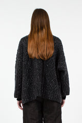 Grey Margo Cardigan