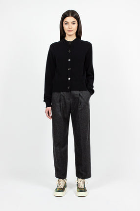 Market Trouser Charcoal Wool
