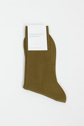 Cactus Short Ribbed Socks