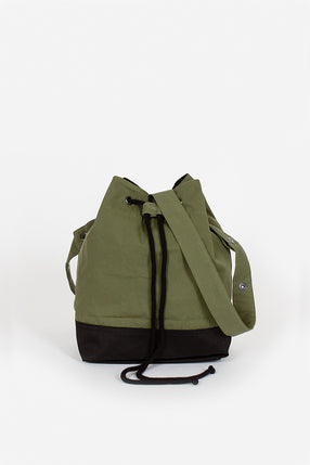 MHL Proofed Plainweave Bucket Bag Sage