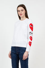 PLAY Red Heart LS T-Shirt