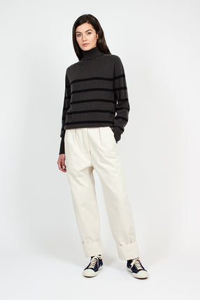 MHL Wide Hem Natural Trousers