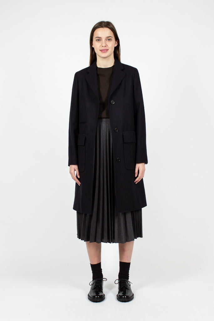 Midnight Soft City Coat