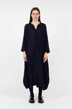 Navy Cocoon Dress