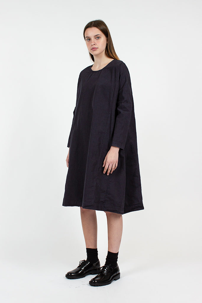 Navy Rouch Dress