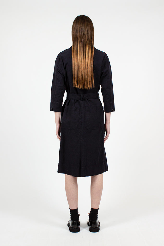 MHL Midnight Overall Wrap Dress