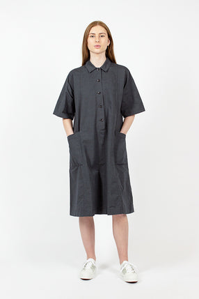 Flared Shirt Dress
