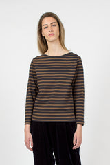 L/S Matelot Dry Jersey Slate/Cocoa