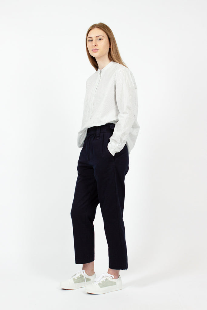 Cinched Crop Trouser