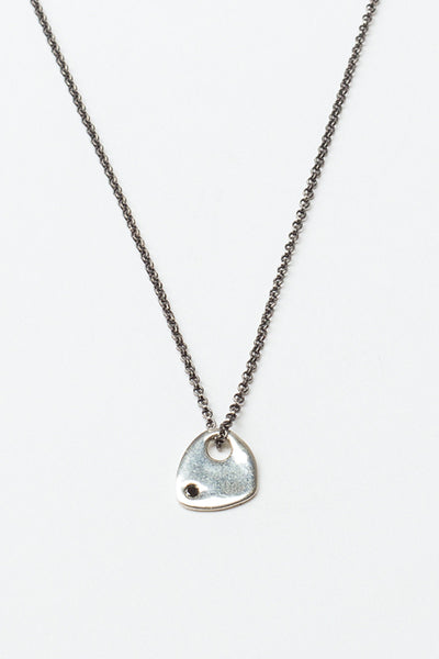Silver Medal Necklace