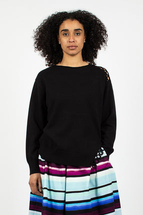 News Jumper Black