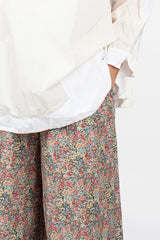 PJ Pant Washed Floral Mix 2
