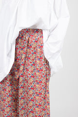 PJ Pant Washed Floral Mix 1