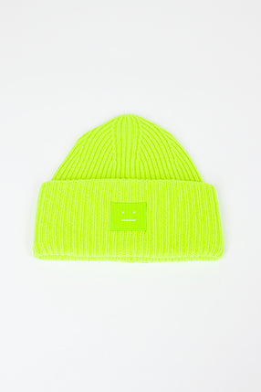 Pansy N Face Hat Lime Green
