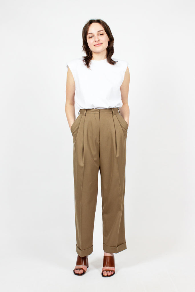 Camel Tailored Pant