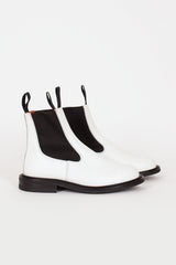 Paula White Ankle Boot