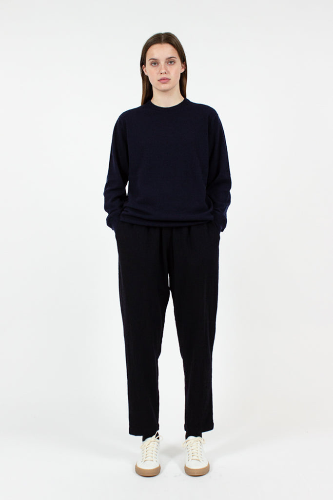 Navy Peace Cashmere Jumper