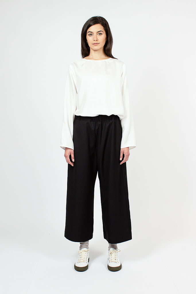 Wide Leg Percy Trousers